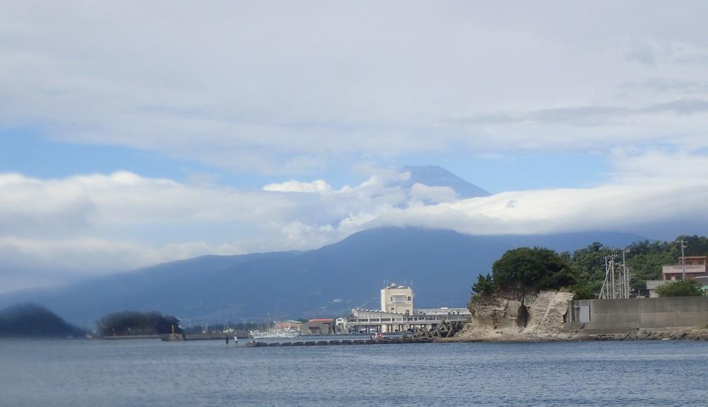 ポイントから見る富士山