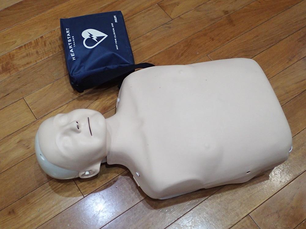 CPR&ファーストエイド講習・練習用人形