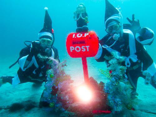 水深20m水中ポスト