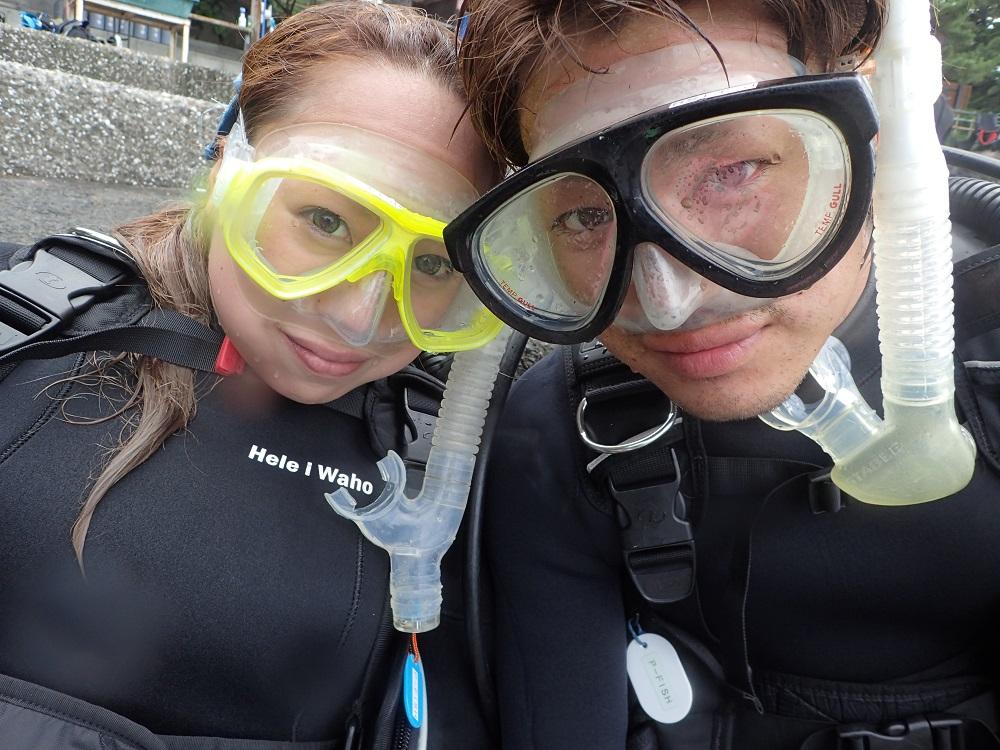 おめでとう!誕生日記念ダイビング