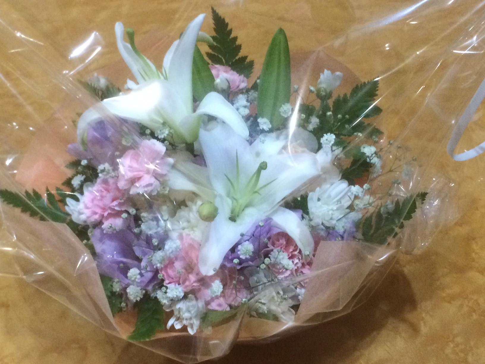 Ms.MIYUKIより献花