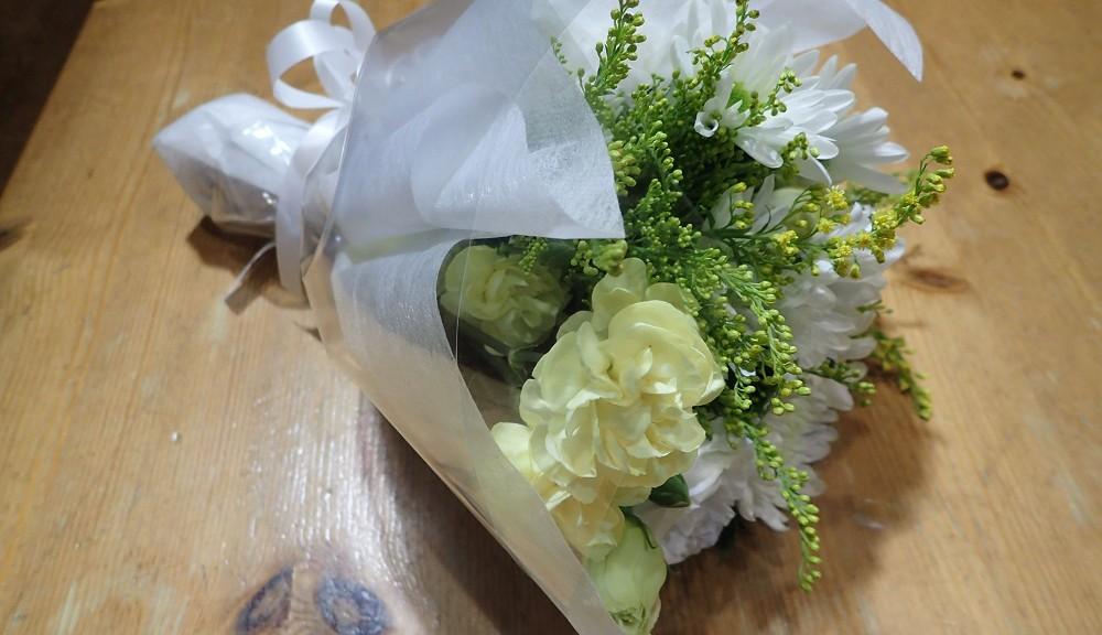 Mr.ONOより花束
