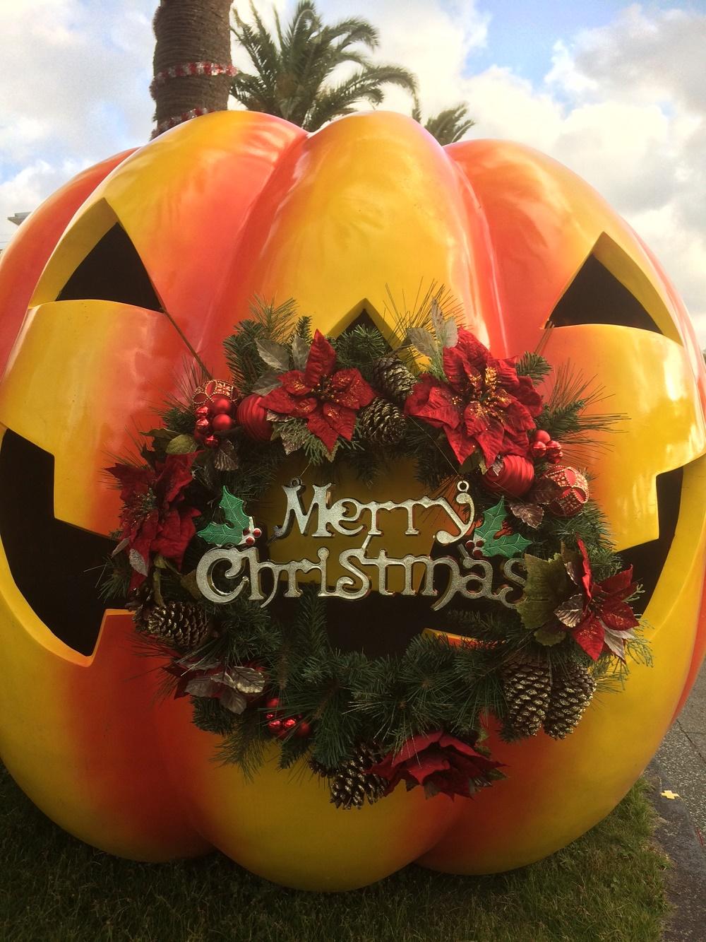 ハロウィン&クリスマスのコラボレーション