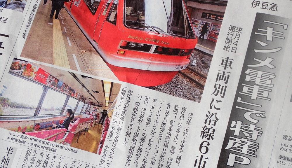 伊豆急・キンメ電車