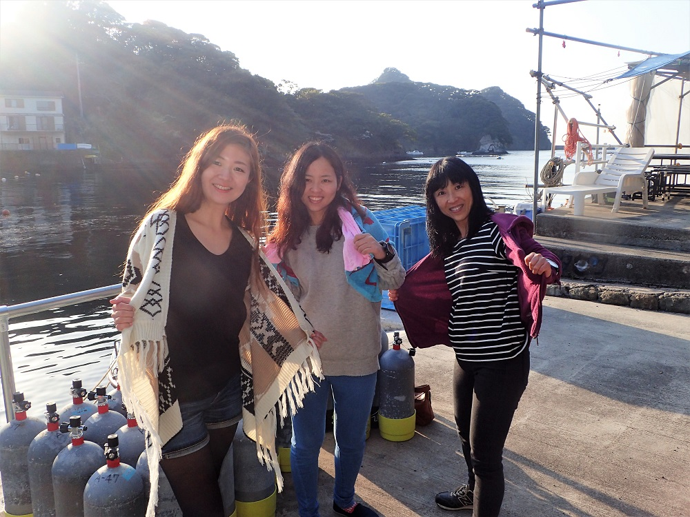 田子にて、、、3姉妹?