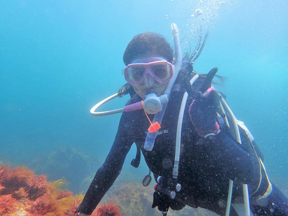 楽しい!楽しい!体験ダイビング