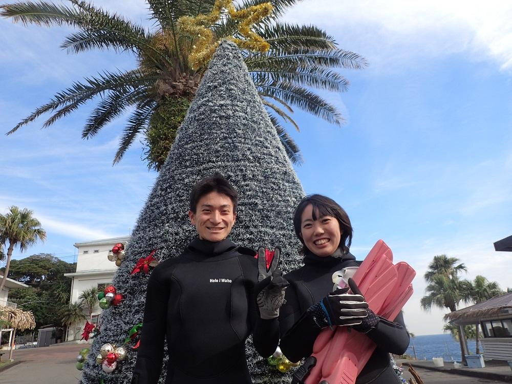 祝、初、ダイビング、伊豆海洋公園にて、、、