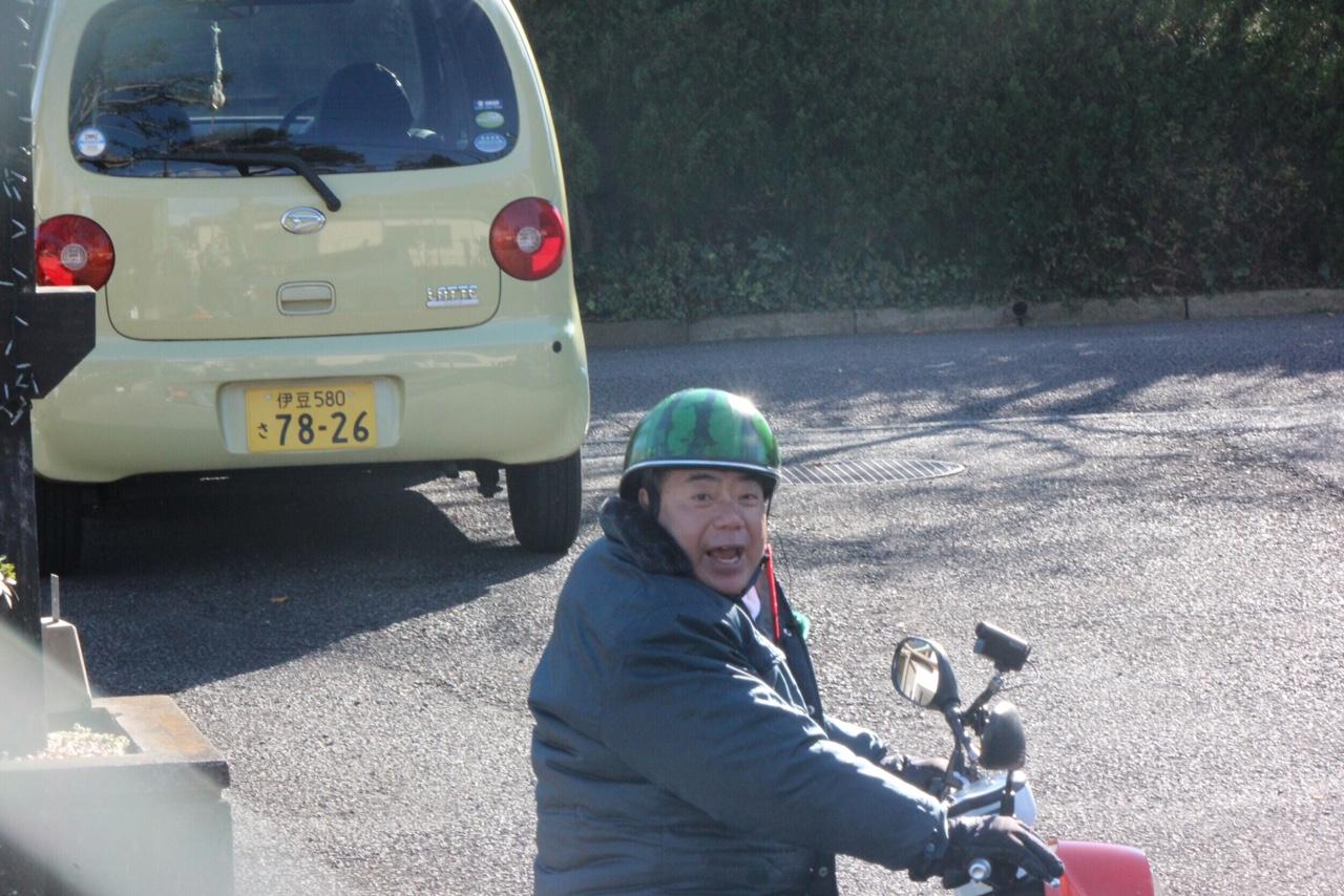 電動バイク、充電の旅