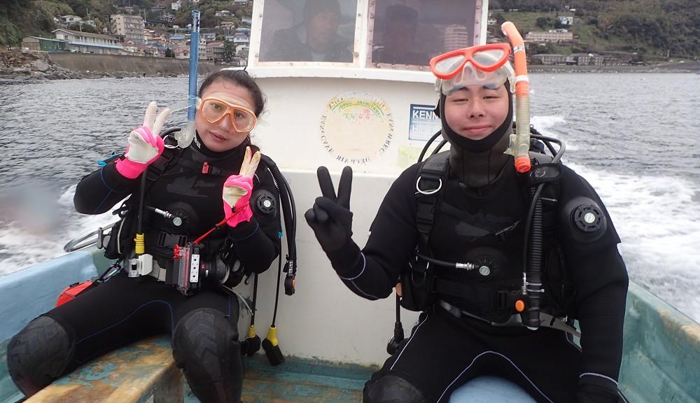 北川ボートにて