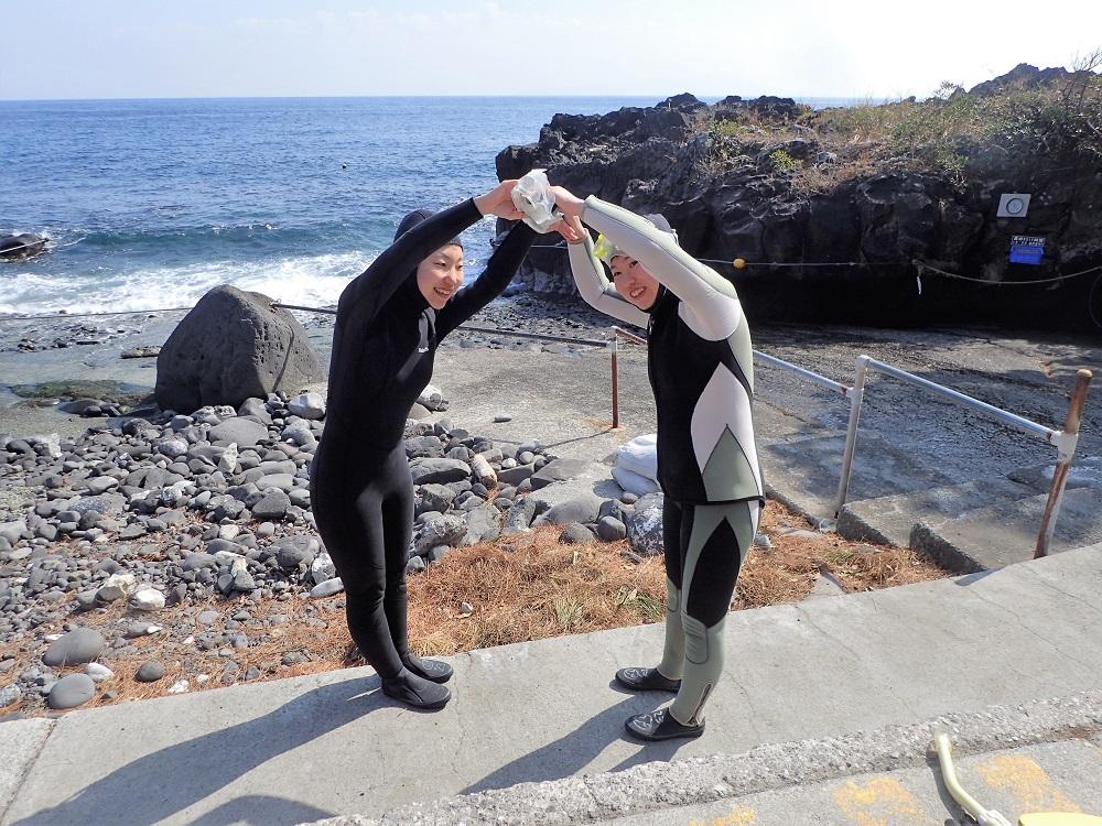 伊豆海洋公園にて