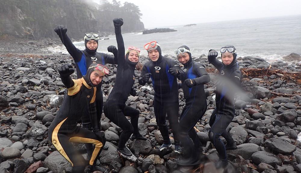 元気いっぱい!卒業旅行!体験ダイビング!