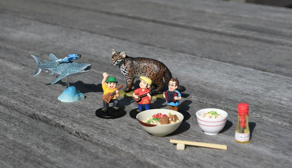 沖縄限定・ガチャガチャフィギュア