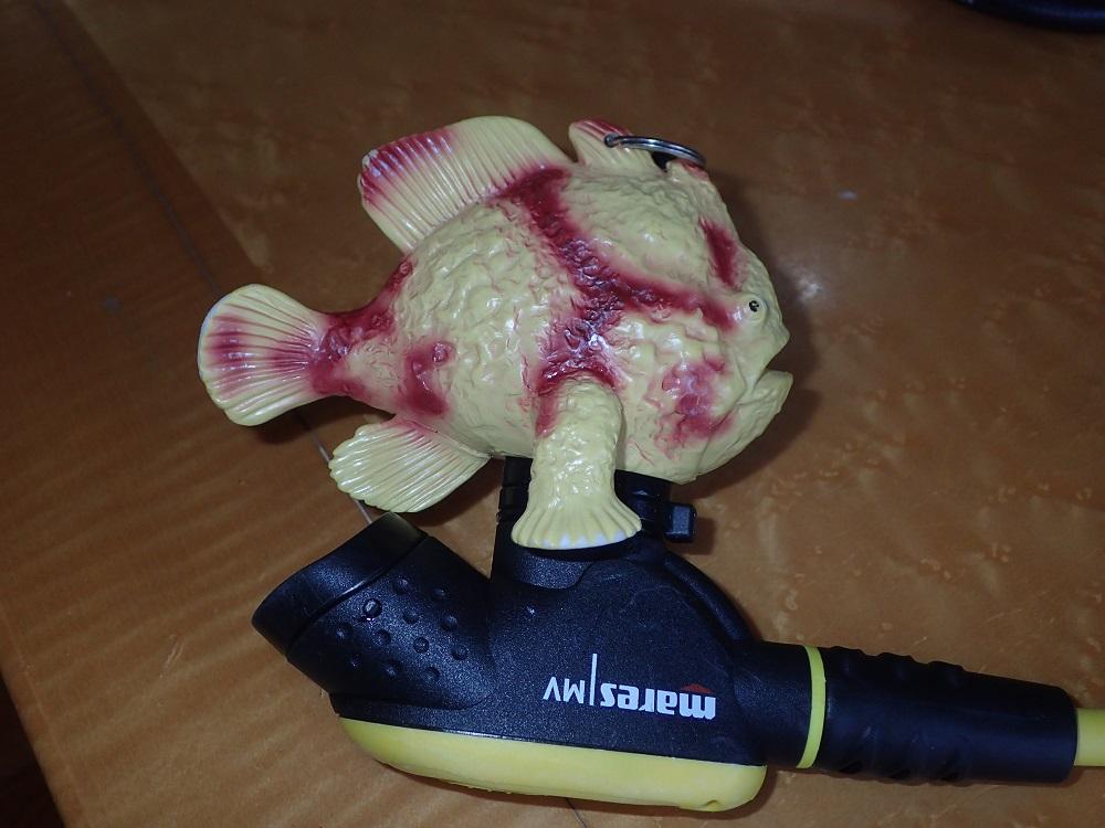カエルアンコウ型オクトパスホルダー