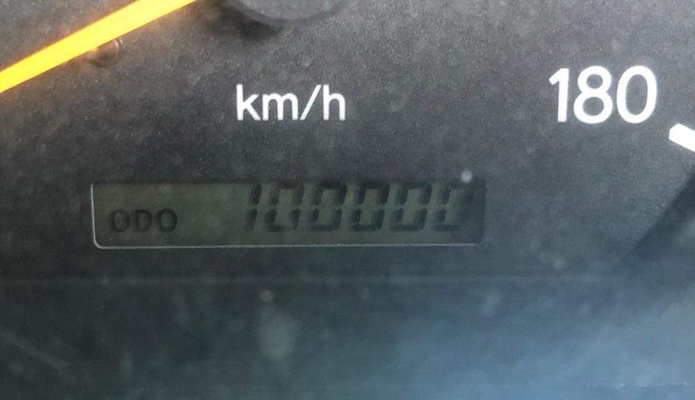 祝!10万km