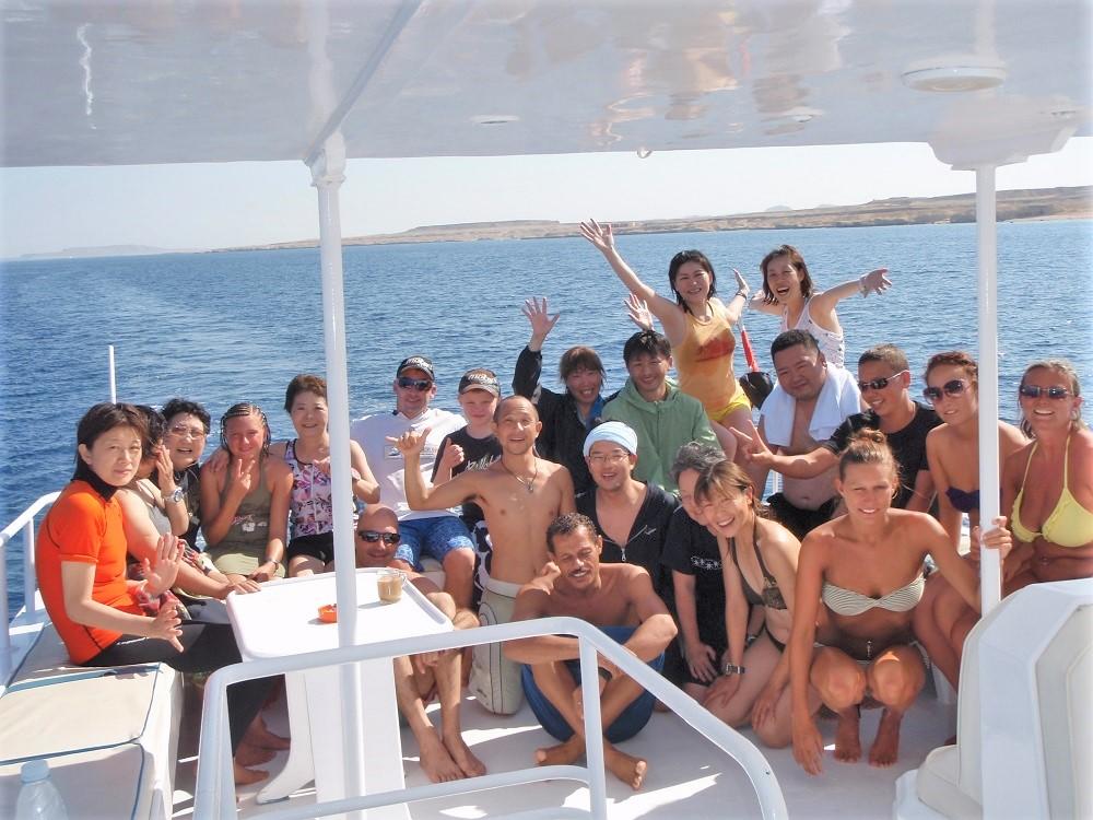 紅海ダイビング