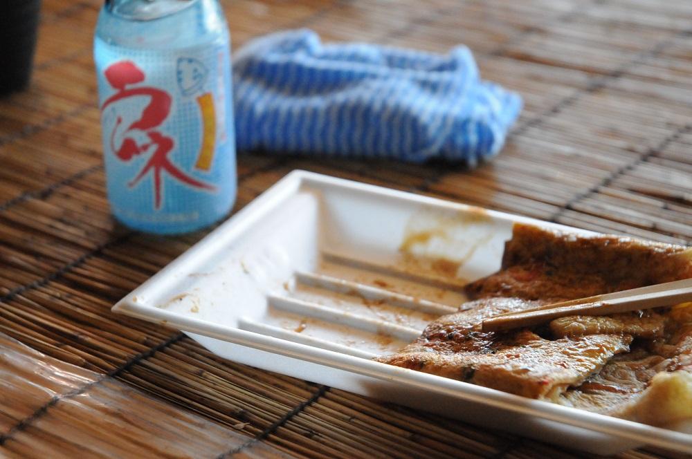 下田焼と一緒にラムネも頂きました。