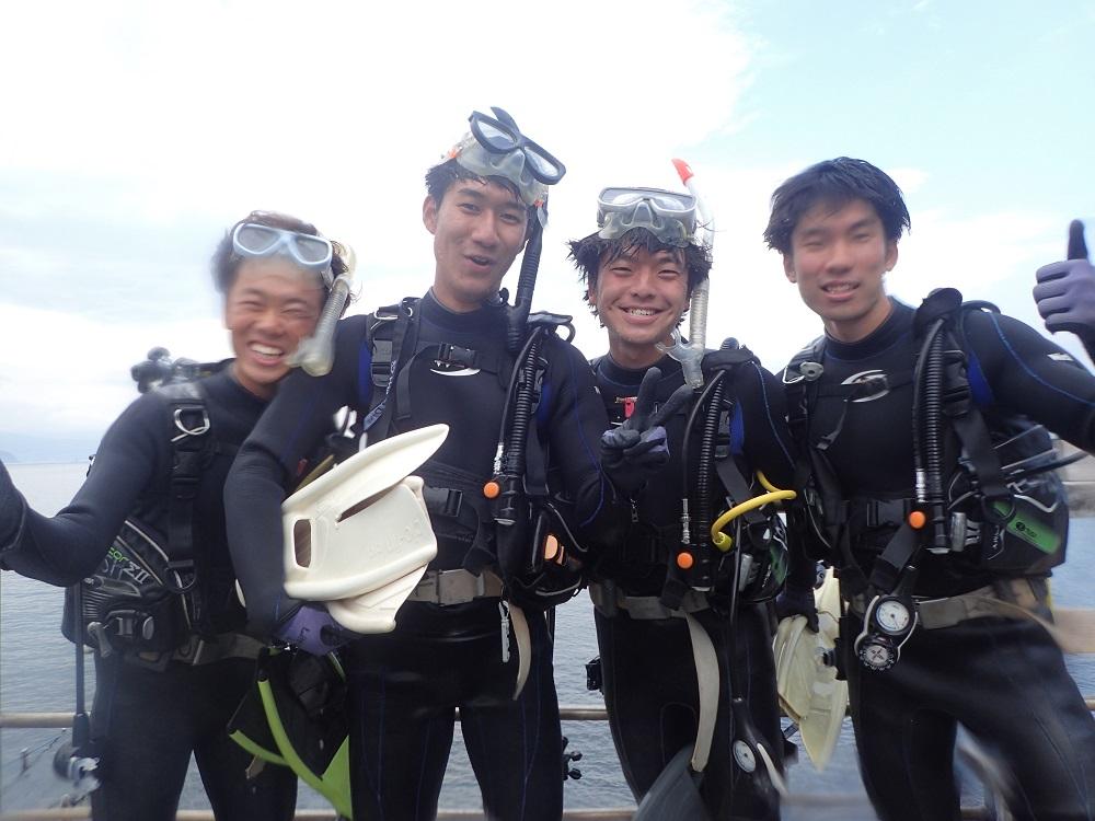 大学ボート部・同級生4名の皆さん