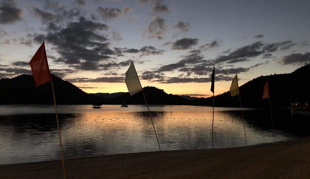 フィリピン・コロン島の夕日