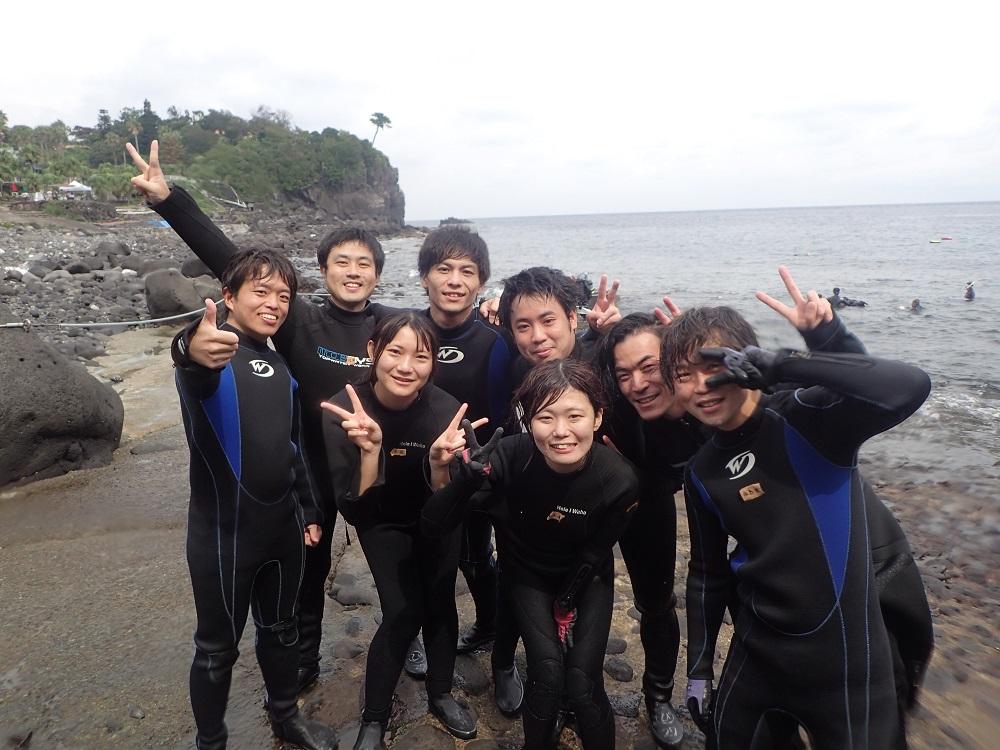 ダイビング・さいこ~!