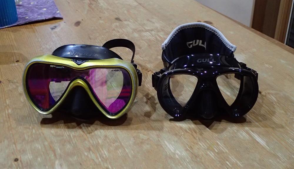 GULL マスク・VADER(左)・ANELIA(右)