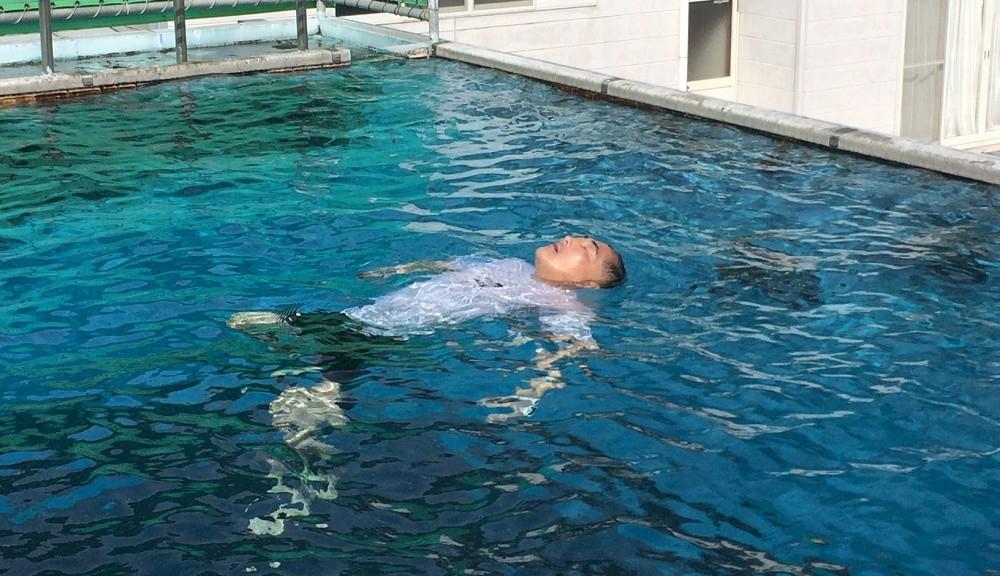 プール講習・生存水泳
