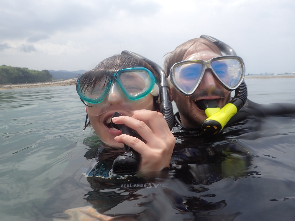伊豆・体験ダイビング
